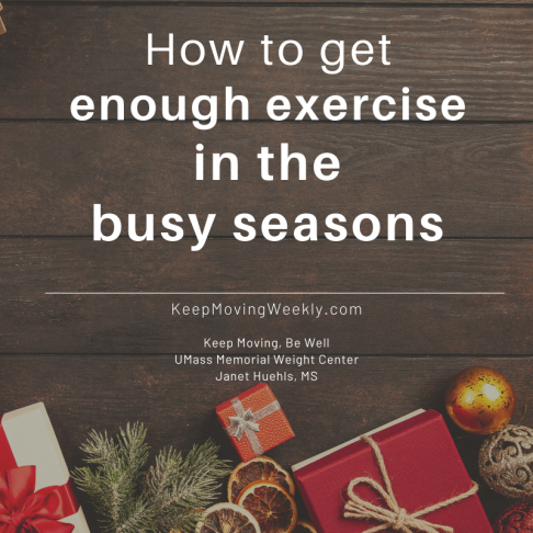 How to get enough exercise in the busy seasons of your life (1)